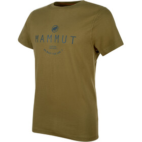 Mammut Seile t-shirt Heren, olive